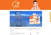 Gia Skincare Cosmetics Website